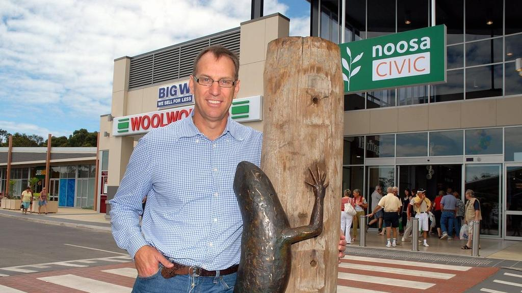 Mark Stockwell at the Noosa Civic.